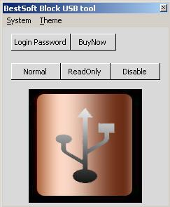 BestSoft Block USB Tool screenshot